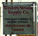 The signage at our Second WNS Store <br/> 1845 Glendale Road Sparks, Nevada