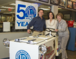 American Restoration: Margaret Cavin, past AGC and first female president, has had a 1950's Ice Cream cart restored, as a gift, in honor of the Blue Team's 50 years in business. The cart is very sweet but the kindness and thoughtfulness is the sweetest ever!